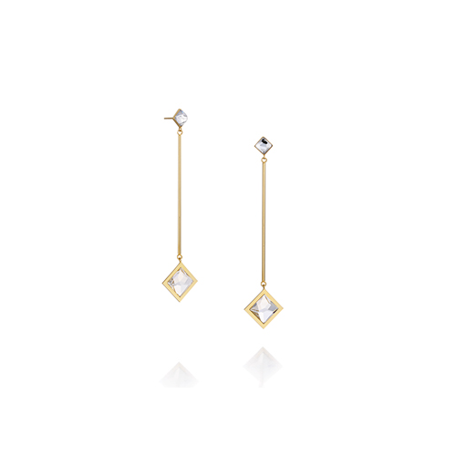 rhombus_ yellow gold