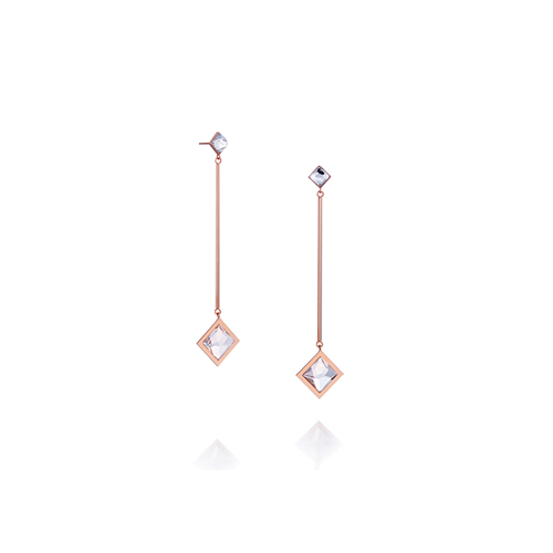 rhombus_ rose gold