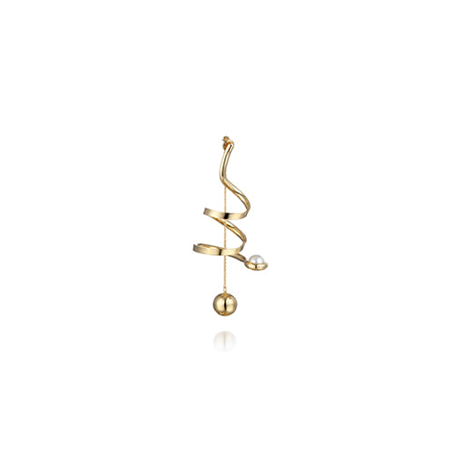 curly_single earring