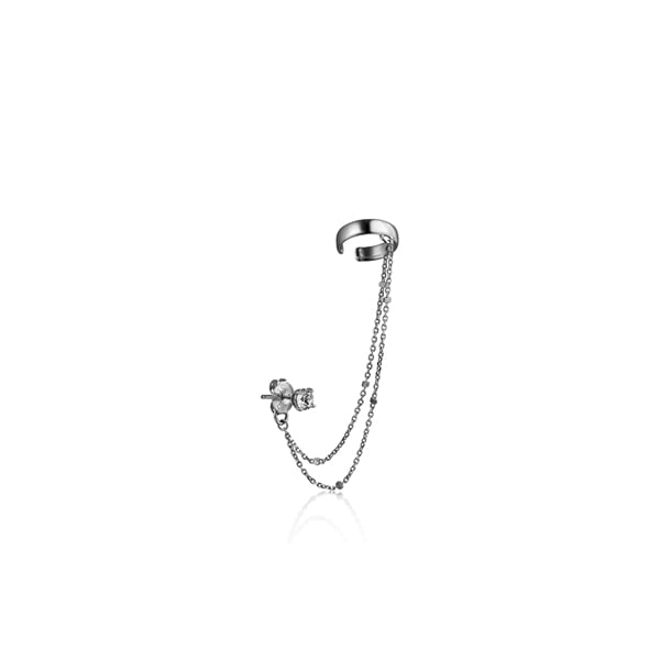 crystal_chain earcuff_ white gold